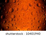 Abstract pattern with drops - stock photo