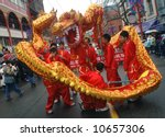 Chinese New Year Parade - EDITORIAL - stock photo