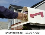 Mail Delivery - stock photo