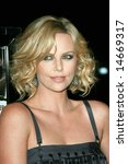 HOLLYWOOD - 7 MARCH: Charlize Theron at the Sleepwalking Premiere held at the Directors Guild of America, Hollywood. - stock photo