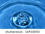 liquid reality - stock photo