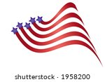 Patriotic graphic. - stock vector