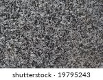 Texture of black granite stone - stock photo
