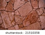 stone wall - for background - stock photo