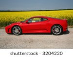 FERRARI F430 - stock photo