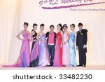 KUALA LUMPUR, MALAYSIA - JULY 11: Fashion show by Keith Kee during KL Wedding Expo 2009 on July 11, 2009 at Mid Valley Exhibition Centre, Kuala Lumpur. - stock photo