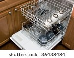 The Dishwasher - stock photo
