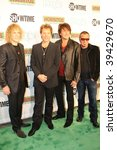 "NEW YORK, NY - OCTOBER 21: Bon Jovi attends the Bon Jovi film ""When we were beautiful"" premier on October 21, 2009 in New York City. - stock photo"