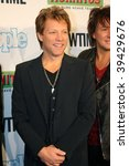 "NEW YORK, NY - OCTOBER 21: Jon Bon Jovi attends the Bon Jovi film ""When we were beautiful"" premier on October 21, 2009 in New York City. - stock photo"
