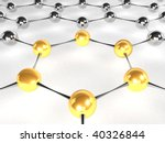 nano - gold - stock photo