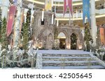 KUALA LUMPUR, MALAYSIA - DEC 9: Decoration of Christmas for year 2009 in Mid Valley Megamall on Dec 9, 2009 at Mid Valley City, Kuala Lumpur. - stock photo