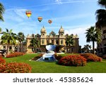 The Grand Casino Monte Carlo Monaco - stock photo