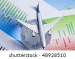 Economy Class - stock photo