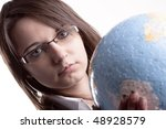 Travel agency - stock photo