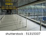Charles de Gaulle Airport in Paris - stock photo