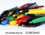 Markers - stock photo