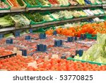 Vitamins marketplace - stock photo