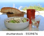 Greek food - stock photo