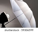 Photography Lighting Equipment - stock photo