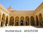 Zaouia Sidi Sahab, Kairouan, Tunisia - stock photo