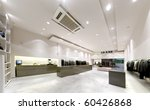 Modern interior boutique - stock photo
