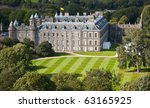 Holyrood Palace, Edinburgh, Scotland - stock photo