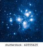 Pleyades - stock photo