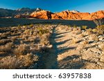 Red Rock Canyon Views - stock photo