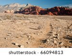 Red Rock Canyon Desert Canyon - stock photo