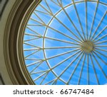 Ceiling Abstract patterns - stock photo