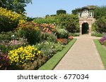 Country Garden - stock photo