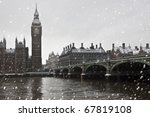 Big Ben and westminster Palace - stock photo