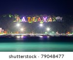 Pattaya city - stock photo