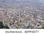 Bogota the capital of colombia - stock photo