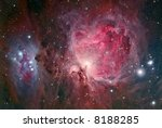 Orion Nebular complex - stock photo