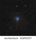 The Iris Nebula, NGC 7023 - stock photo