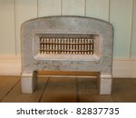 Vintage heater - stock photo