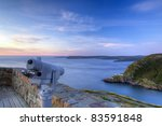 Historic Signal Hill in St. John's. - stock photo