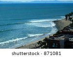 Ventura Beach, Ca - stock photo
