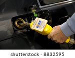 E85 Ethanol Gas Fuel Pump in Washington state, U.S.A. Editorial. - stock photo