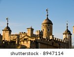 Tower of London - famous London landmark - stock photo