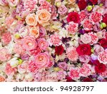 rose flower for background - stock photo