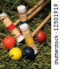 Croquet Anyone? - stock photo