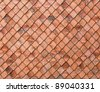 old tiles roof texture close-ip photo - stock photo
