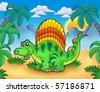 Cartoon Dinosoures - UHQ Stock Photo Мультяшные динозавры.