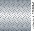 Steel diamond plate pattern. You can tile this seamlessly as a pattern to fit whatever size you need. - stock photo