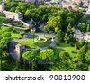 Vatican Gardens, Rome - stock photo