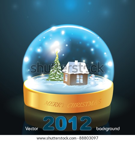 Electric Snow Globe http://christmasstockimages.net/?photobank=2&p=48