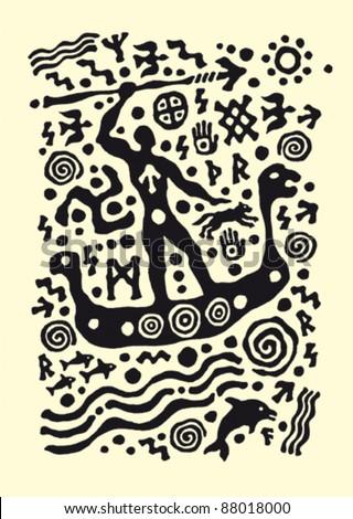 Ancient Native American Warrior Symbols