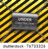 Under construction background-vector - stock vector